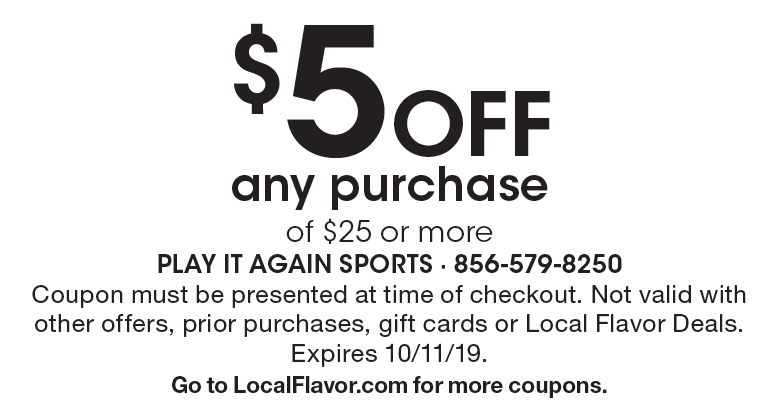image relating to Play It Again Sports Coupons Printable known as - Participate in It Back again Sporting activities - $15 For $30 Worthy of