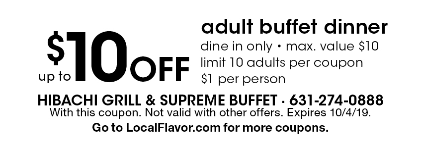 image relating to Hibachi Grill Supreme Buffet Coupons Printable referred to as - Hibachi Grill and Greatest Buffet Discount codes