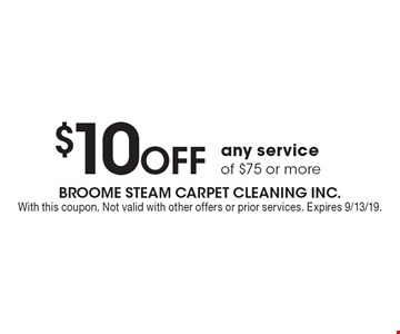 LocalFlavor com - Broome Steam Carpet Cleaning Coupons