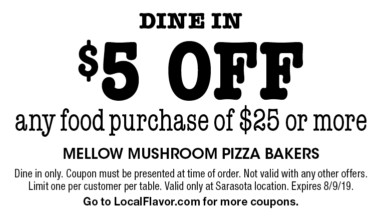 mellow mushroom coupon code january 2019