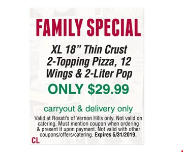 Family special XL 18