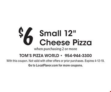 $6 Small 12