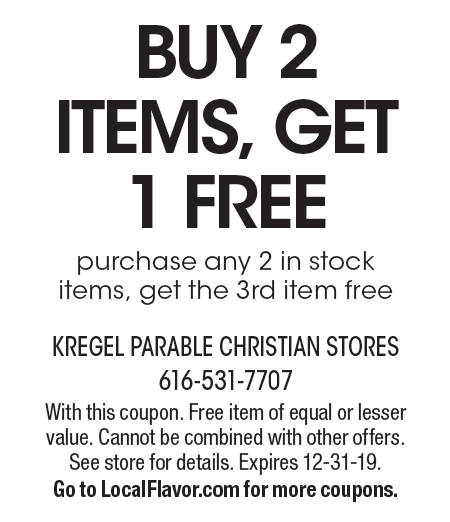 kregel parable coupon