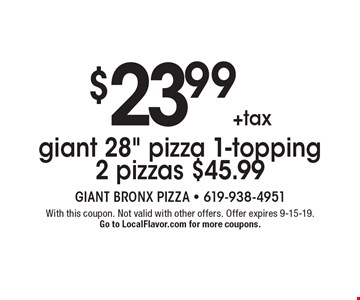 $23.99+tax giant 28