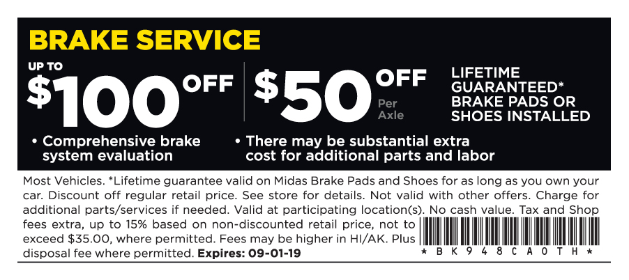 midas labor coupons