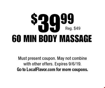 LocalFlavor com - Oriental Oasis Massage Coupons