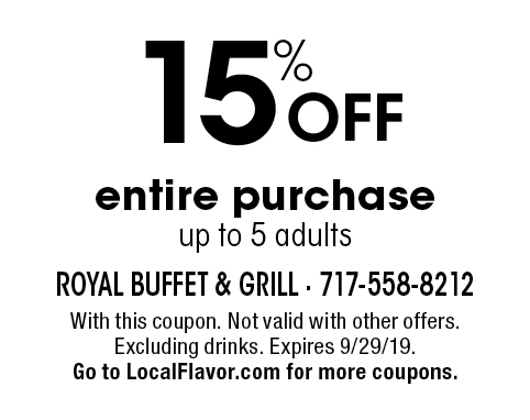 photo about Royal Buffet Printable Coupons called - Royal Buffet Discount coupons
