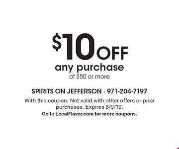 $5 Off Saturday or Sunday brunch with purchase of $25 or more. With this coupon. Not valid with other offers or prior purchases. Expires 8/9/19. Go to LocalFlavor.com for more coupons.