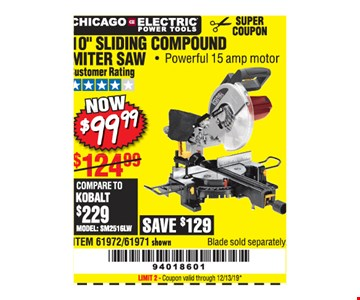Chicago electric power tools 10