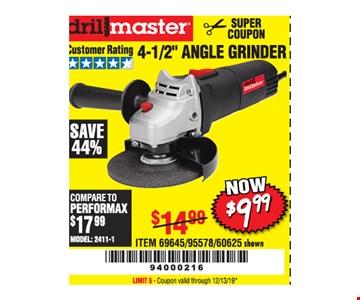 Drillmaster 4-1/2