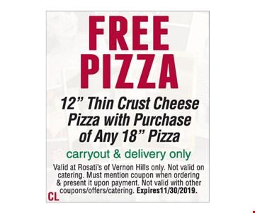 FREE Pizza 12