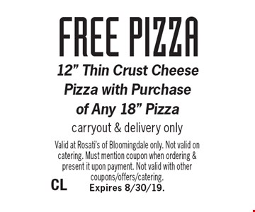 FREE pizza 12