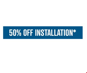 50% OFF INSTALLATION*. *Limit one offer per household. Offers cannot be combined. Applies to purchases of 5 or more Classic or Designer Glide-Out shelves. Lifetime warranty valid for Classic or Designer Solutions. Learn more at shelfgenie.com.