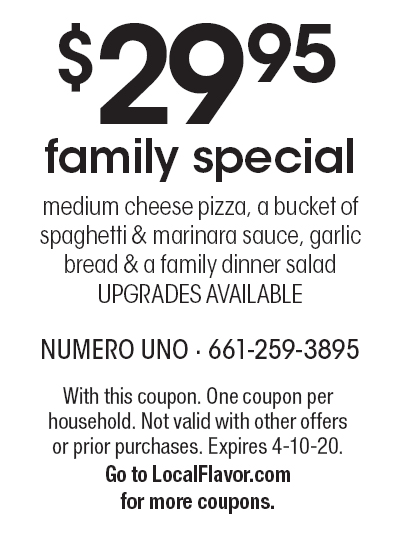 picture about Unos Coupons Printable called Numero Uno Pizza - $15 For $30 Truly worth Of -