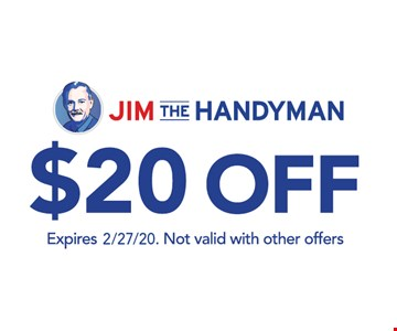 $20 Off. Not valid with other offers.