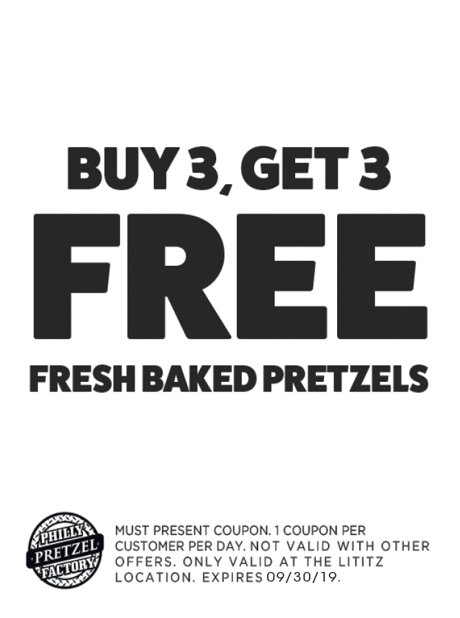 photograph relating to Philly Pretzel Factory Coupons Printable referred to as - Philly Pretzel Manufacturing facility Discount coupons