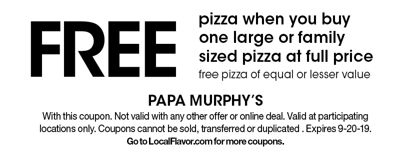 photograph about Papa Murphy's Printable Coupons identify - Papa Murphys - $15 For $30 Truly worth Of