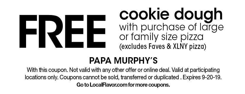 photograph relating to Papa Murphys Printable Coupons identify - Papa Murphys - $15 For $30 Worthy of Of