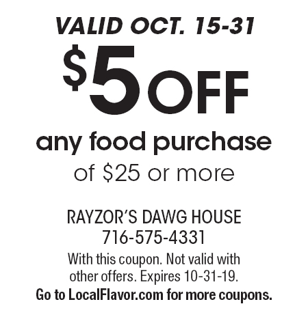 dawg house coupons