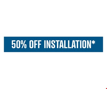 50% off installation. Limit one offer per household. Offers cannot be combined. Applies to purchases of 5 or more Classic or Designer Glide-Out shelves. Lifetime warranty valid for Classic or Designer Solutions. Learn more at shelfgenie.com.