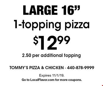 $12.99 large 16