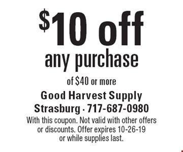 Good Harvest Supply - $10 For $20 Toward     - LocalFlavor com