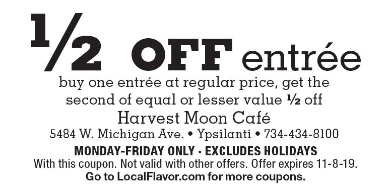Harvest Moon Cafe Deals