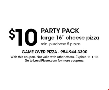 $10 Party Pack large 16