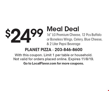 $24.99 Meal Deal16