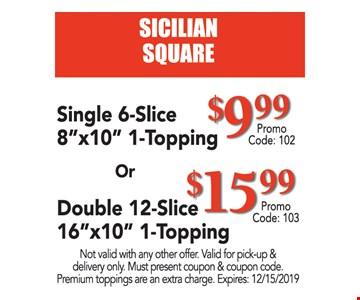 Single 6-slice 8