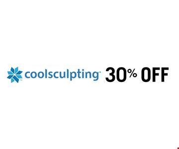 30% OFF coolsculpting.