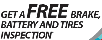 Get a Free Brake, Battery & Tires Inspection