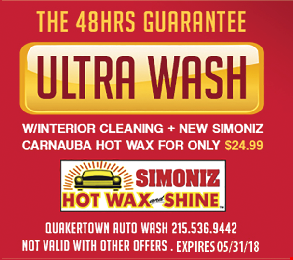 The 48HRS Guarantee Ultra Wash only $24.99. Expires 5/31/18