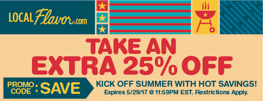 Kick off summer with hot savings!  Take an extra 25% off!  Promo Code: SAVE