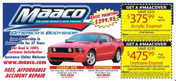 Maaco discount coupon