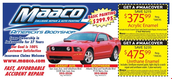 Auto paint repair jacksonville fl 12