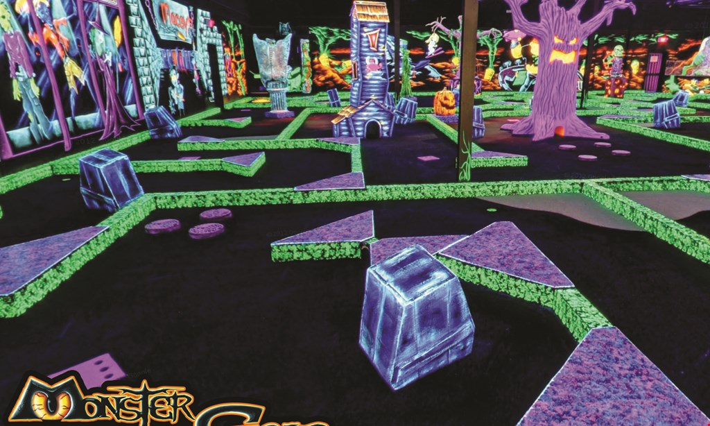 Product image for Monster Mini Golf Fairfield $24 For A Round Of Mini Golf For 4 People (Reg. $48)