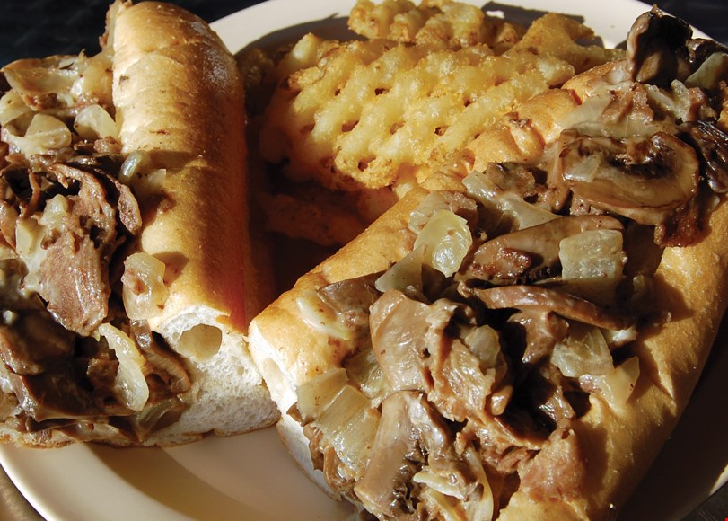 Product image for Philly's Finest Cheesesteaks $10 for $20 Worth of Pizza, Sandwiches, Wings and More!