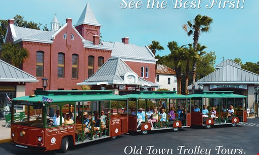 Product image for Old Town Trolley Tours $13.50 for One Admission on Old Town Trolley Tours (Reg $26.99)