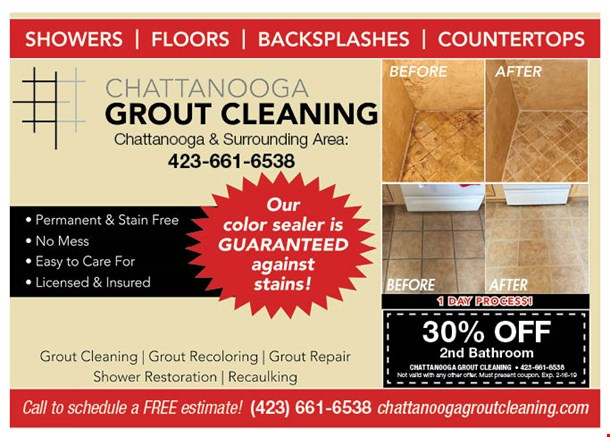 LocalFlavor.com - Chattanooga Grout Cleaning Coupons