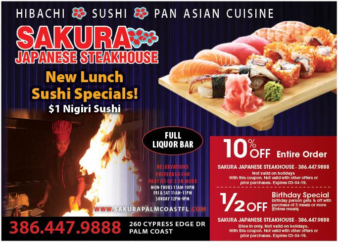 Been to Sakura Japanese Steak House & Sushi Bar? Share your experiences!