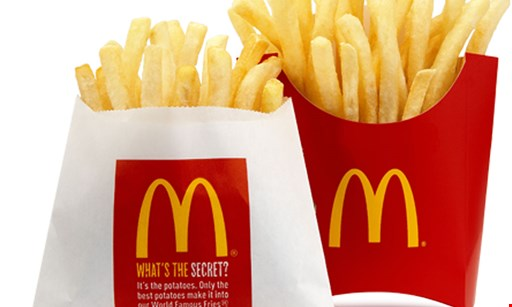 Product image for McDonald's Select Locations ONLY-$7.50 for $15 Worth of Classic American Food