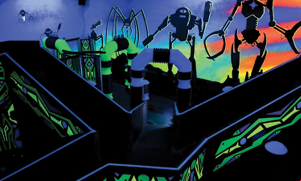Product image for Laserdome $24.99 For A Laserdome Extreme All-Day Pass (Reg. $49.99)
