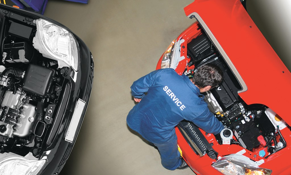 Product image for Advantage Tire & Wheel $20 For A Full Synthetic Oil Change, Tire Rotation & Vehicle Inspection (Reg.$57)