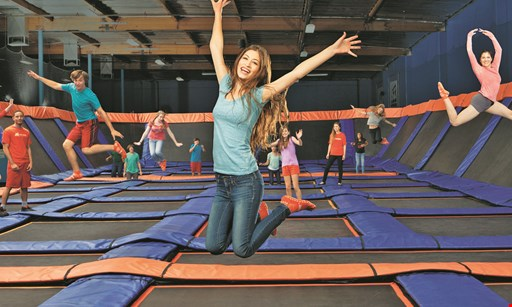 Product image for Sky Zone Trampoline Park $20 For Two 90-Minute Jump Passes (Reg. $40)