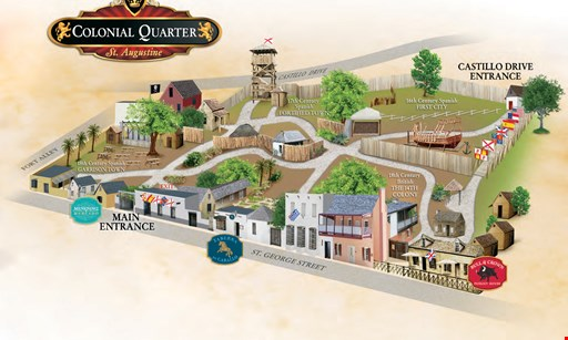 Product image for Colonial Quarter $13 for 2 Admissions to The Colonial Quarter (Reg $26)