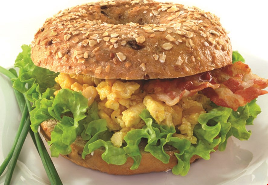Product image for Knot Just Bagels $15 For $30 Worth Of Bagels, Breakfast, Lunch & More