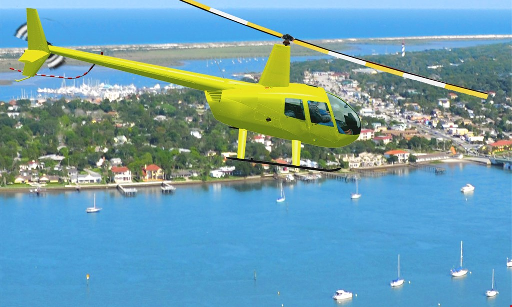 Product image for First City Helicopters, LLC $159 for a Helicopter Tour for Up to Three People from First City Helicopters, Llc (Reg $300)