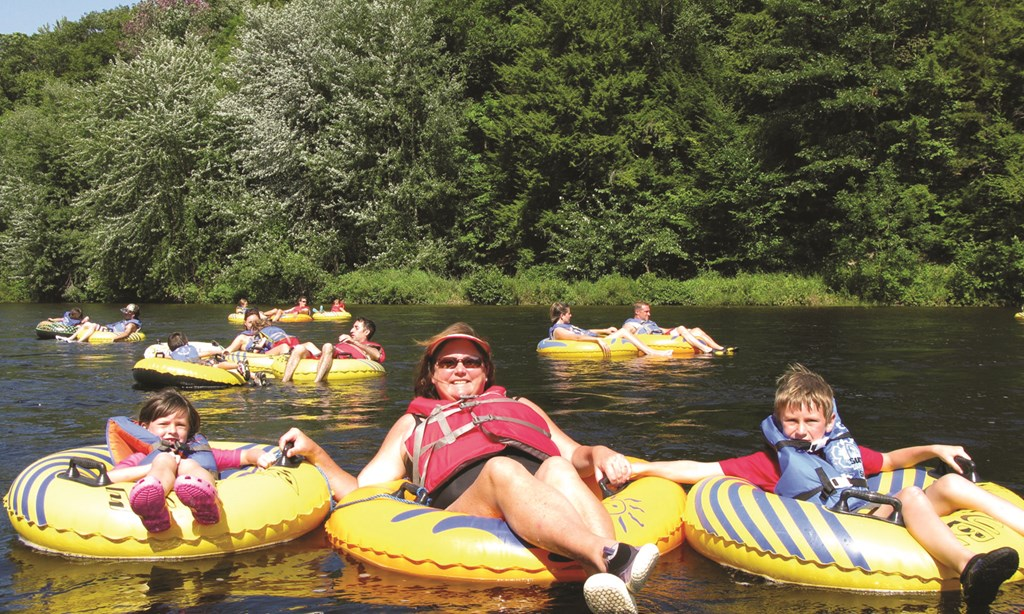 Product image for Tubby Tubes Co. $50 For Lazy River Tubing For 4 (Sun-Fri) (Reg. $100)