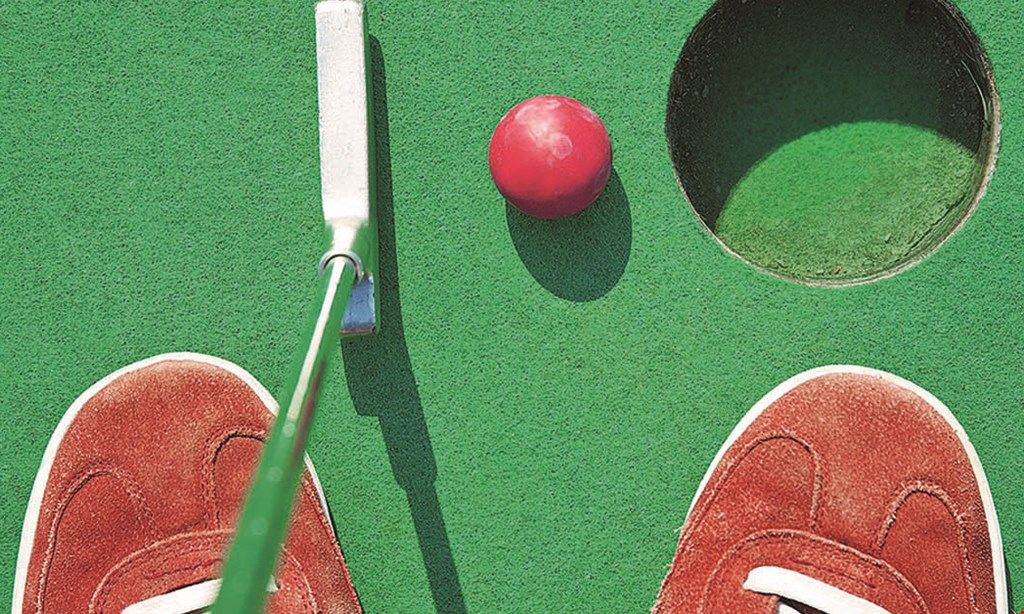 Product image for Chuckster's Family Fun Park $20 For Mini Golf For 4 (Reg. $40)